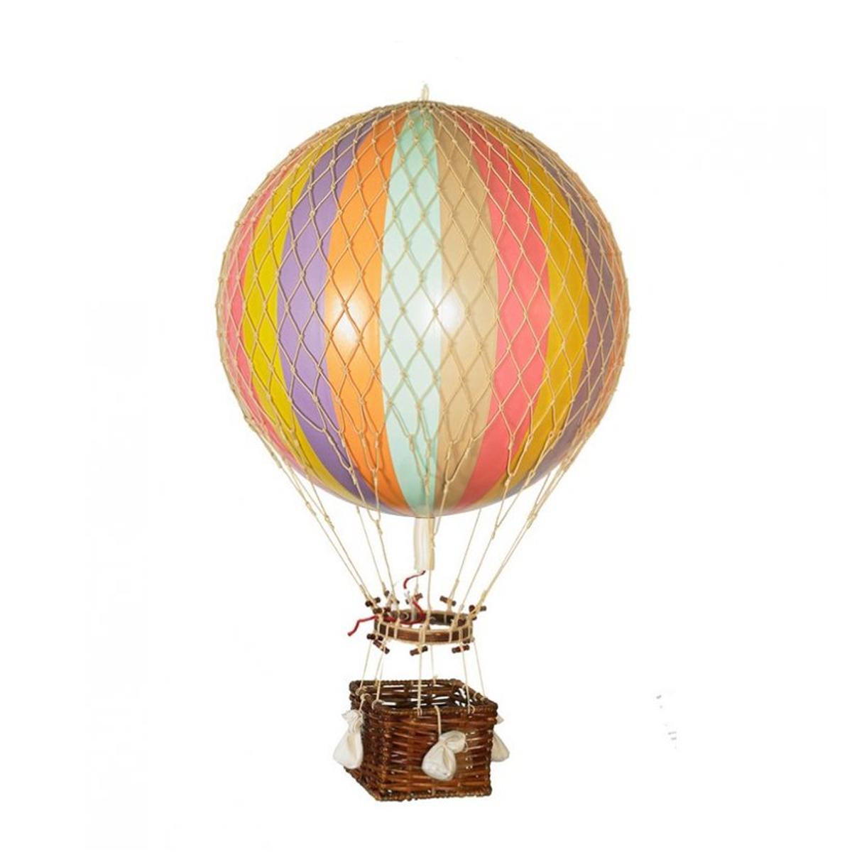 Image of Authentic Models luftballon 18 cm - pastel regnbue