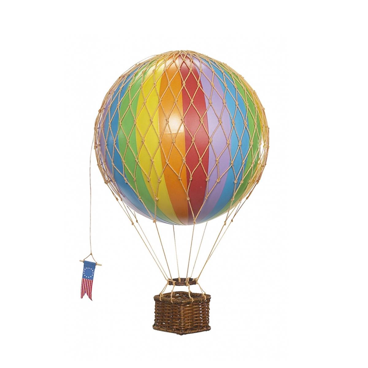 Image of Authentic Models luftballon 18 cm - regnbue