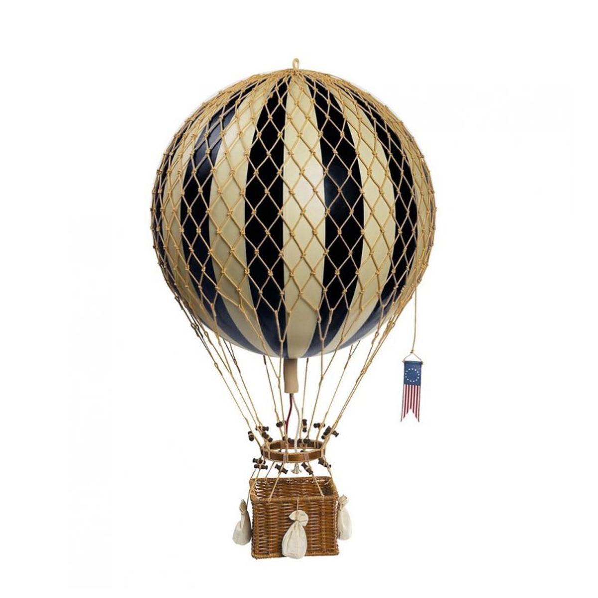 Image of Authentic Models luftballon 18 cm - sort