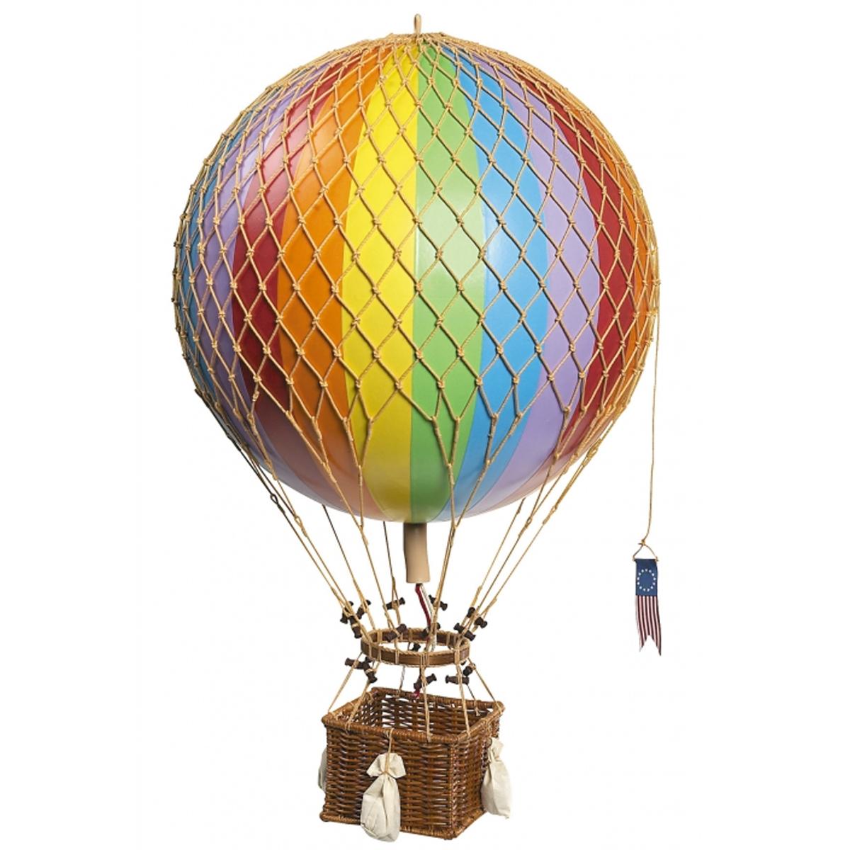 Image of Authentic Models luftballon 32 cm - regnbue