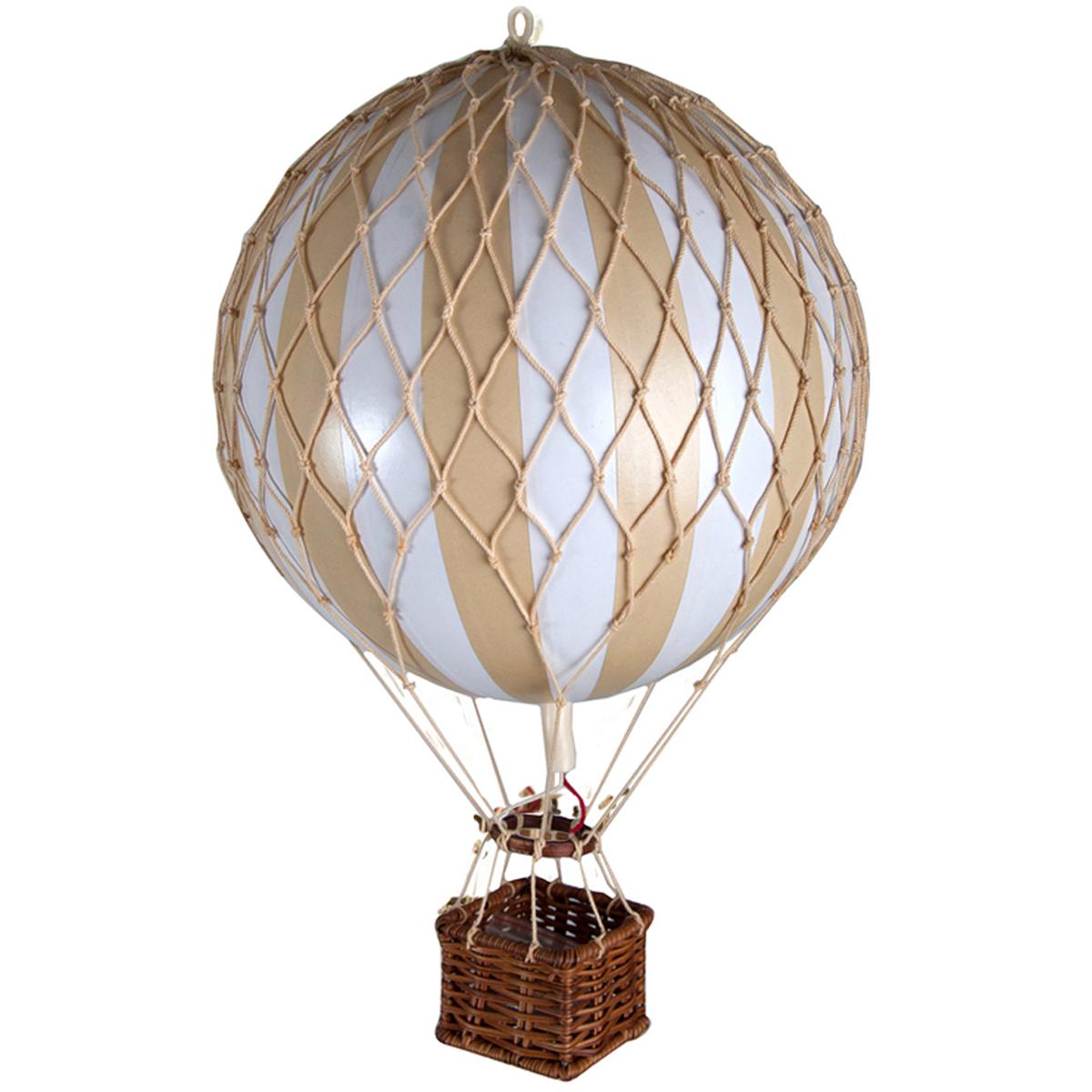 Image of Authentic Models luftballon 32 cm - hvid og ivory