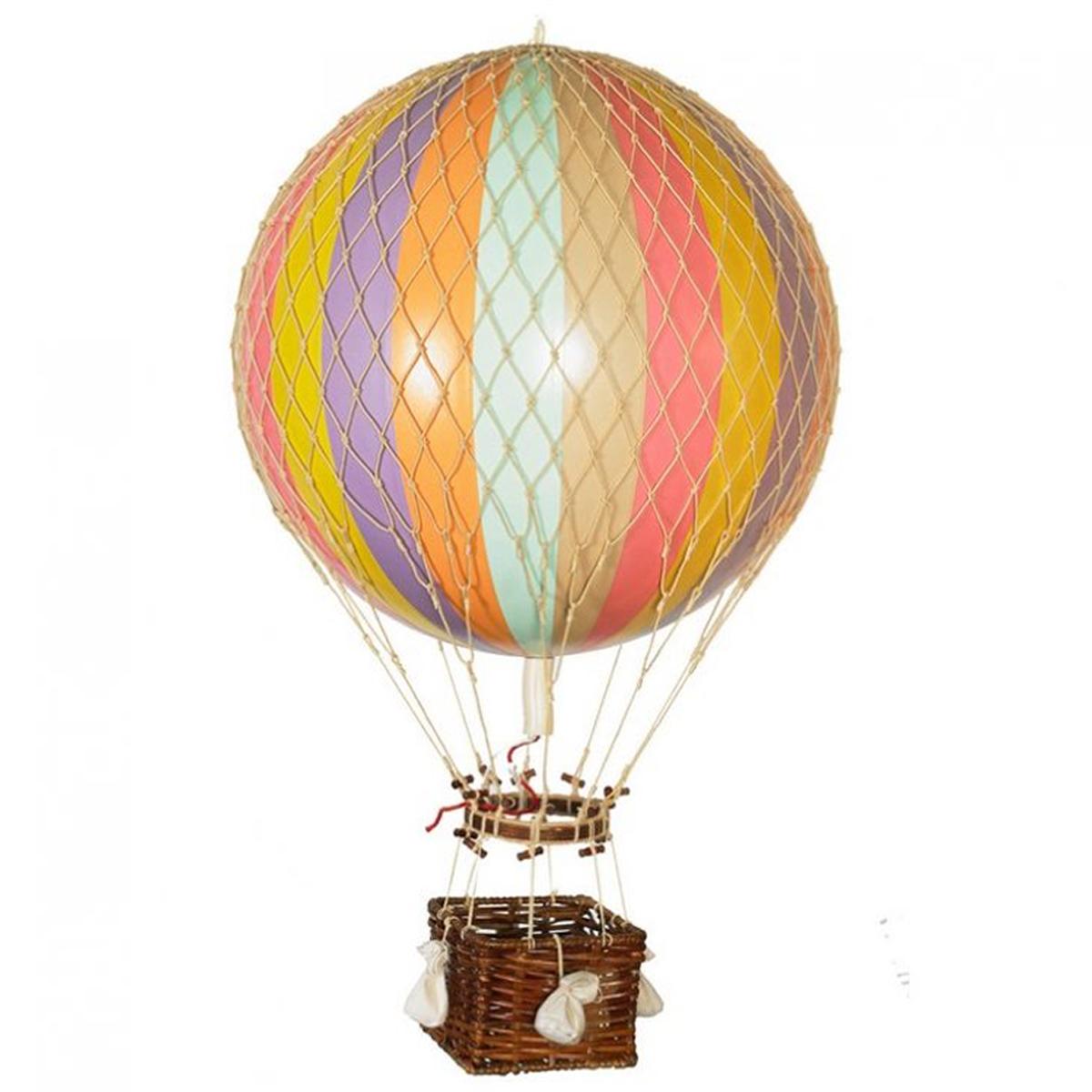 Image of Authentic Models luftballon 32 cm - pastel regnbue