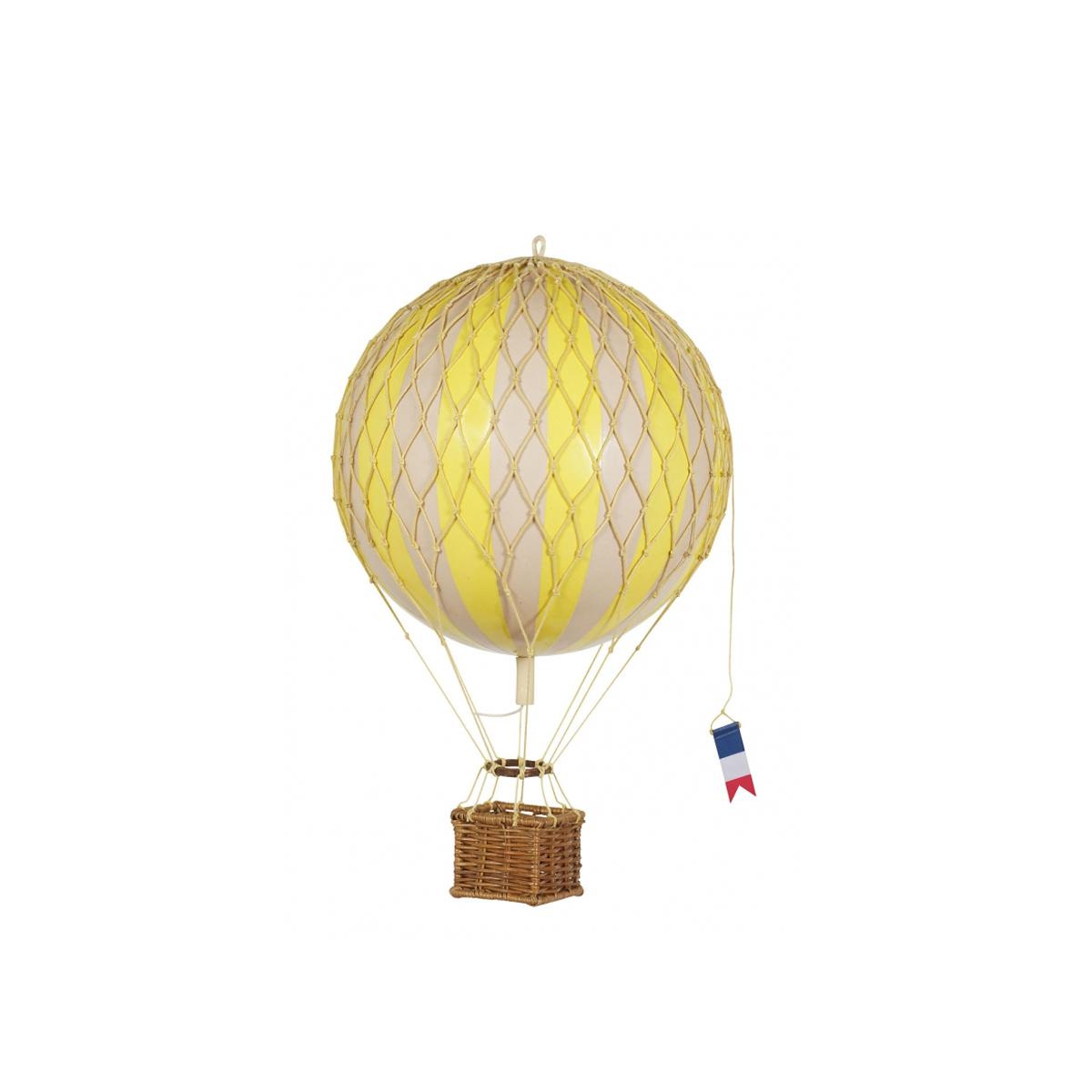 Image of Authentic Models luftballon 8,5 cm - gul