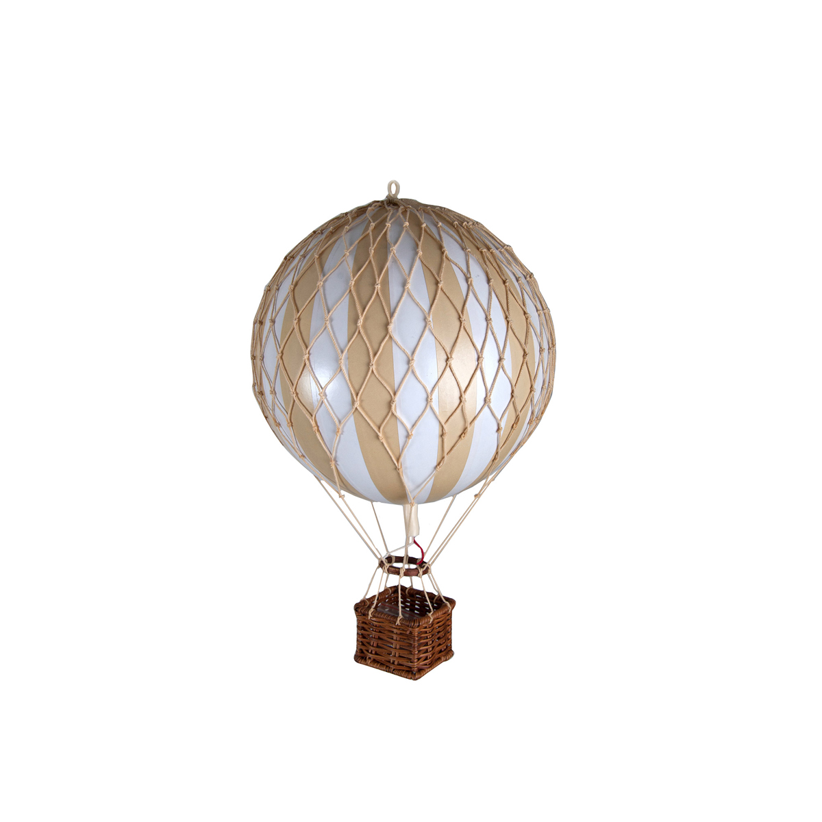 Image of Authentic Models luftballon 8,5 cm - hvid og ivory