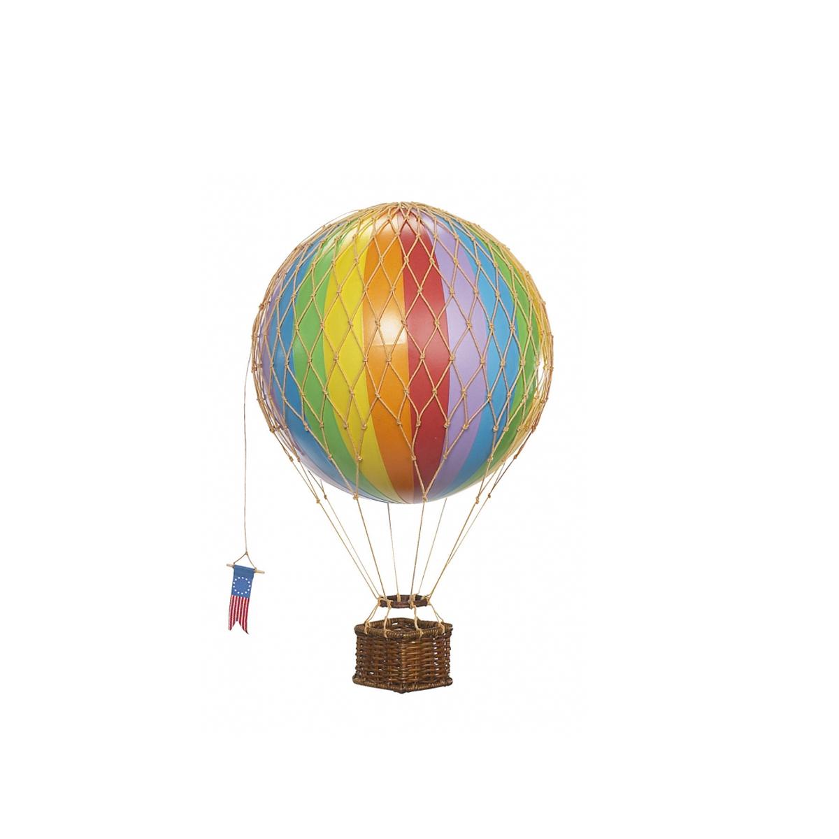 Image of Authentic Models luftballon 8,5 cm - regnbue