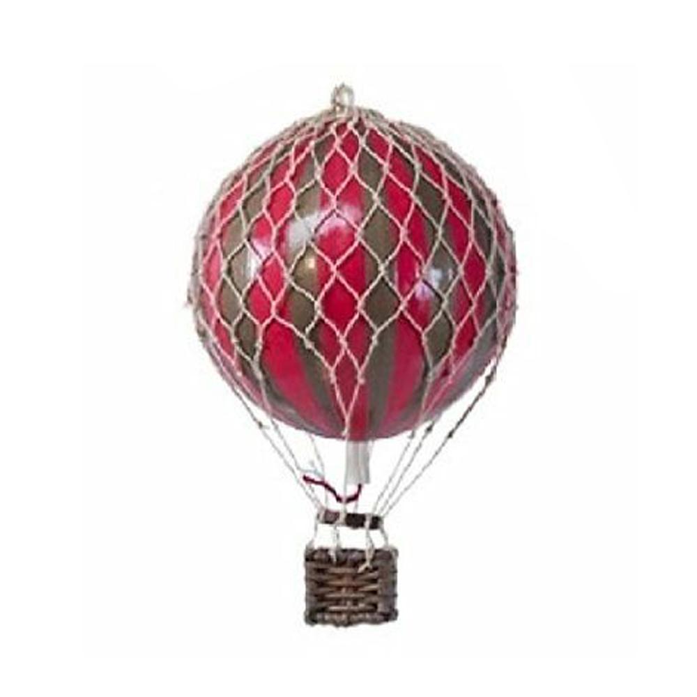 Image of Authentic Models luftballon 8,5 cm - rød og guld