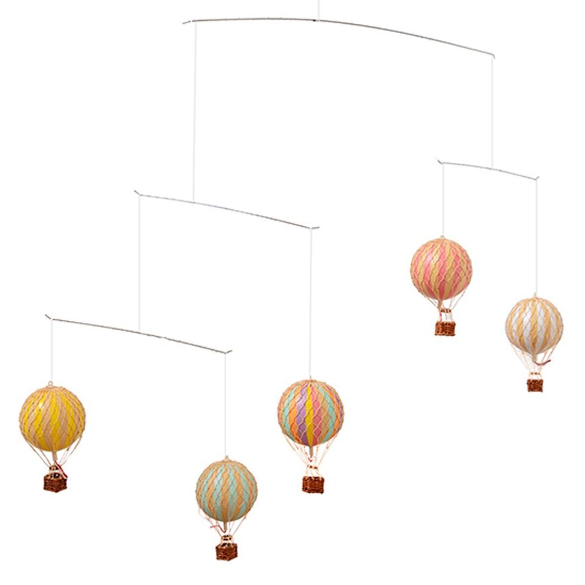 Image of Authentic Models, uro med luftballoner - pastel regnbue