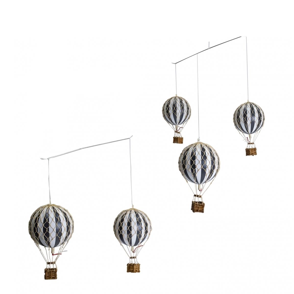 Image of Authentic Models, uro med luftballoner - sort og hvid