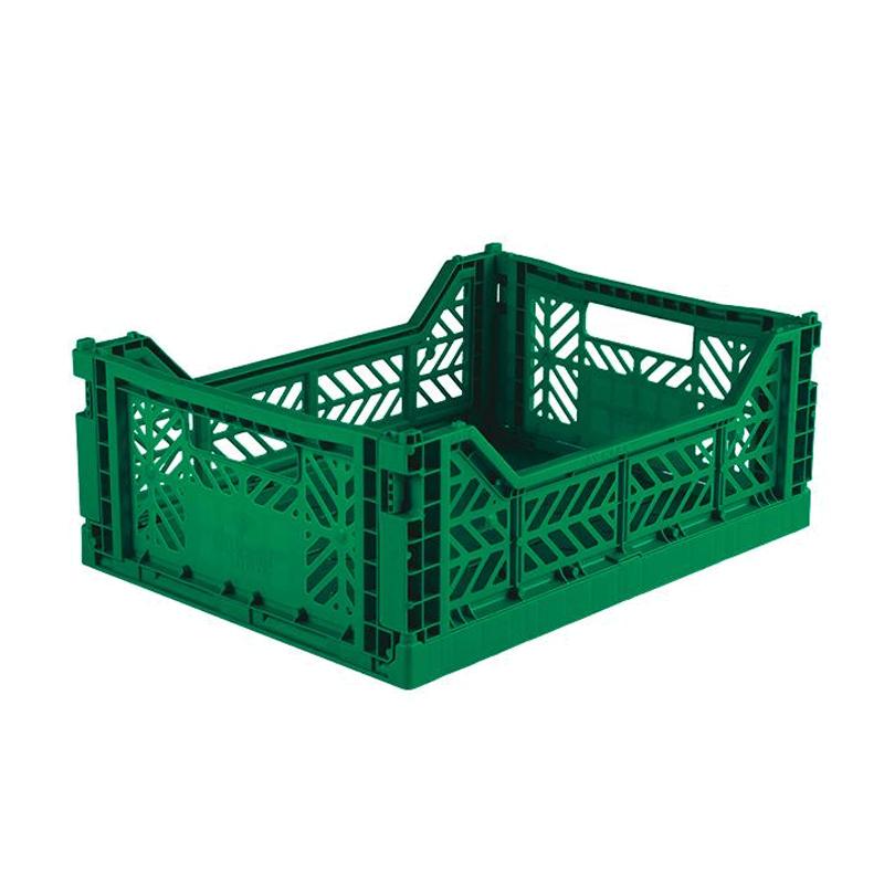Aykasa foldekasse, midi – mørkegrøn