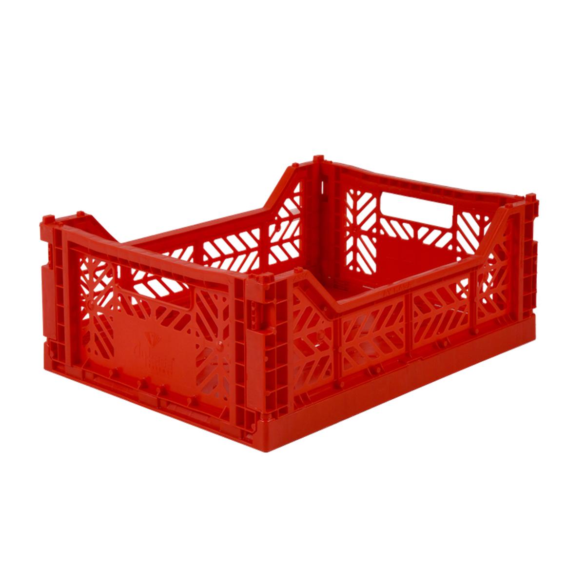 Image of Aykasa foldekasse, midi - rød