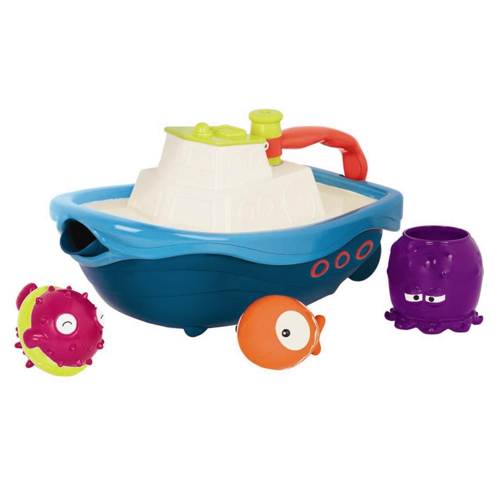 Image of B Toys båd med badelegetøj