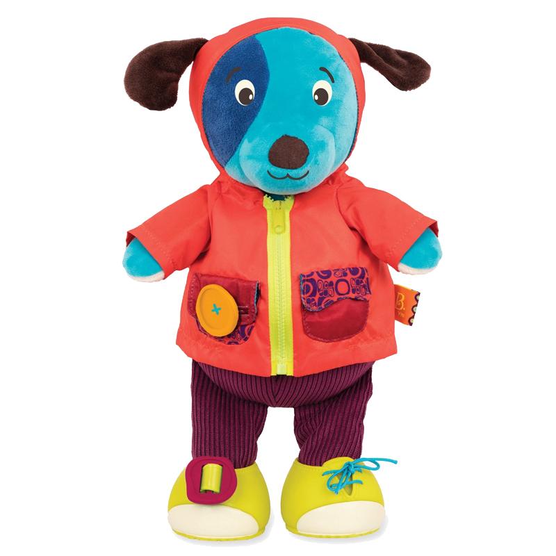 Image of B Toys klæd-på bamse, hund