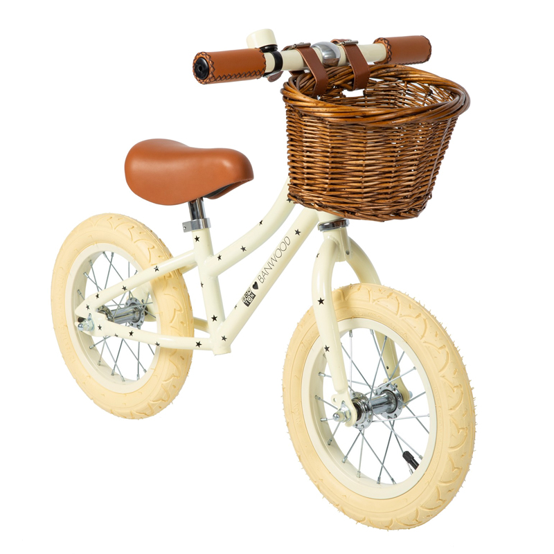 Image of   Banwood løbecykel, First Go - Bonton Cream