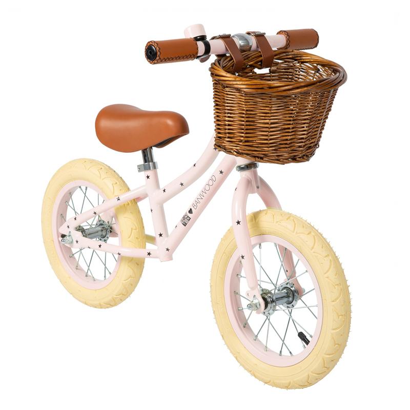 Billede af Banwood løbecykel, First Go - Bonton Rosa