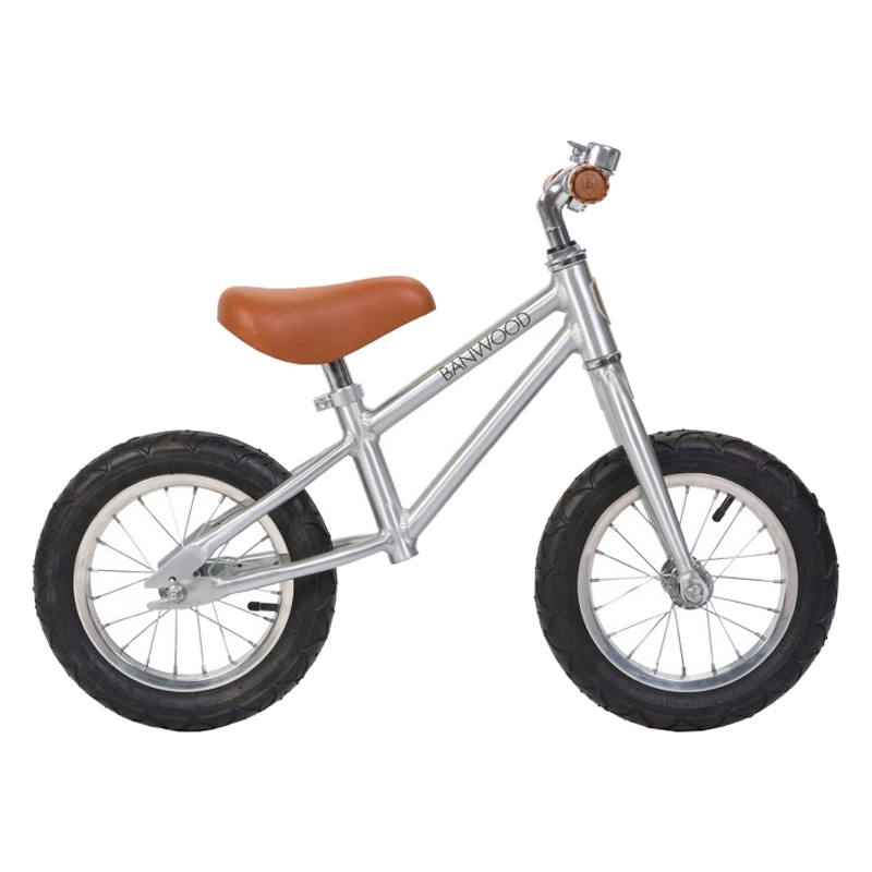 Image of   Banwood løbecykel, First Go - chrome