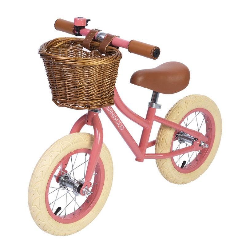 Billede af Banwood løbecykel, First Go - coral