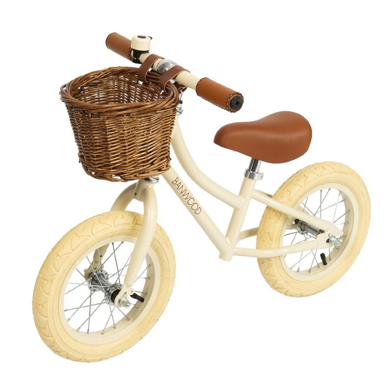 Billede af Banwood løbecykel, First Go - creme