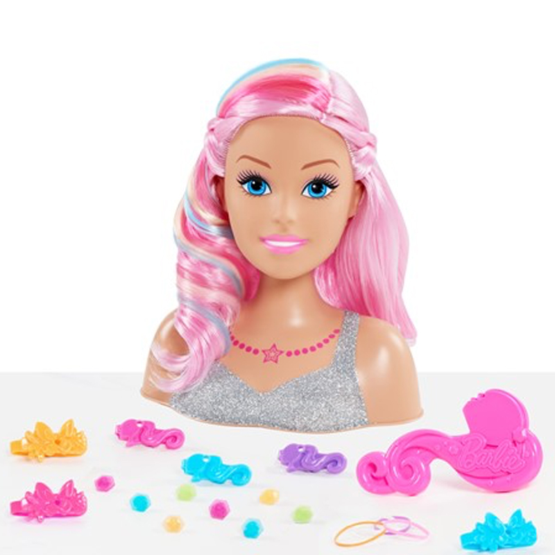 Image of Barbie Dreamtopia frisørhoved