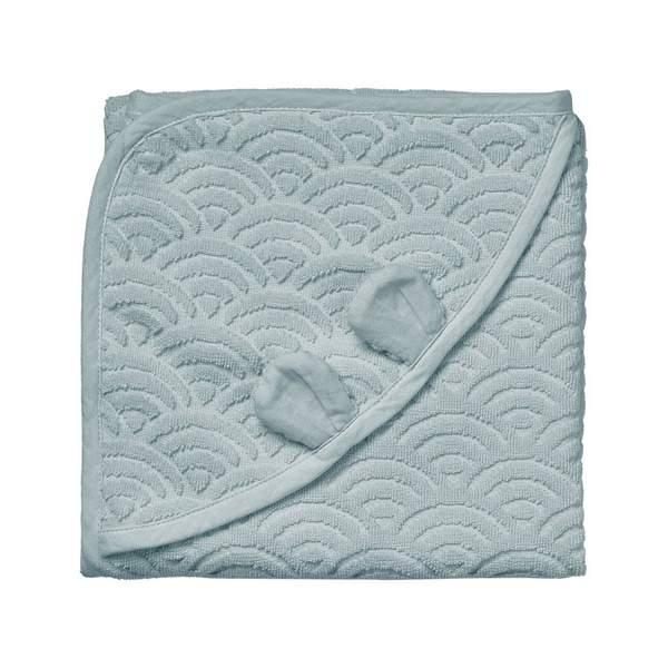 Cam Cam babyhåndklæde 80×80, Petroleum