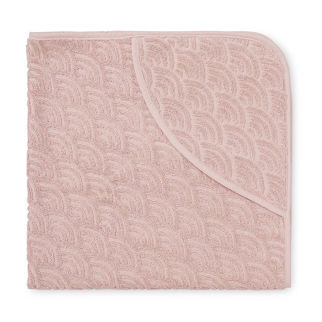 Cam Cam babyhåndklæde med hætte, blossom pink