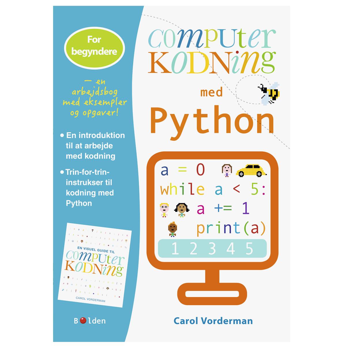 Image of   Computerkodning med Python - for begyndere
