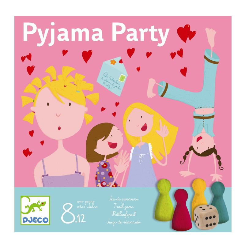 Image of   Djeco spil, Pyjamas party