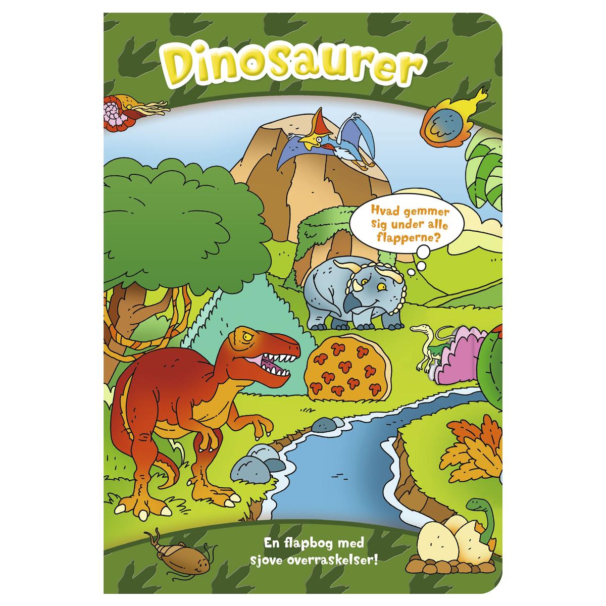 Image of   Den store flapbog: Dinosaurer