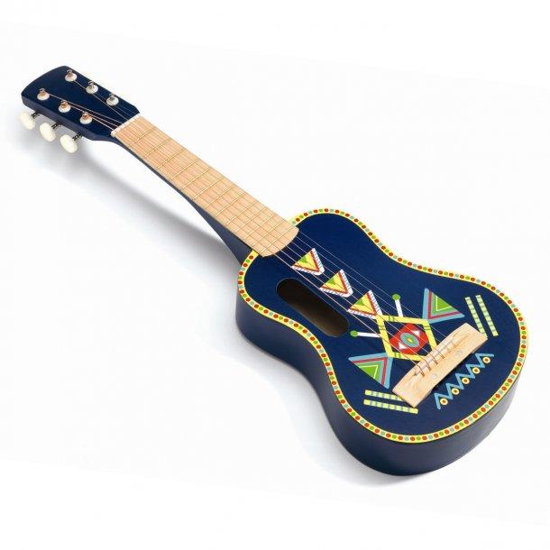 Djeco musikinstrument, stor guitar - Djeco - Børneneskartel.dk