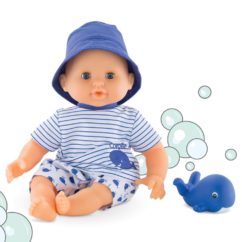 Corolle badedukke, mon premier babydreng - 30 cm