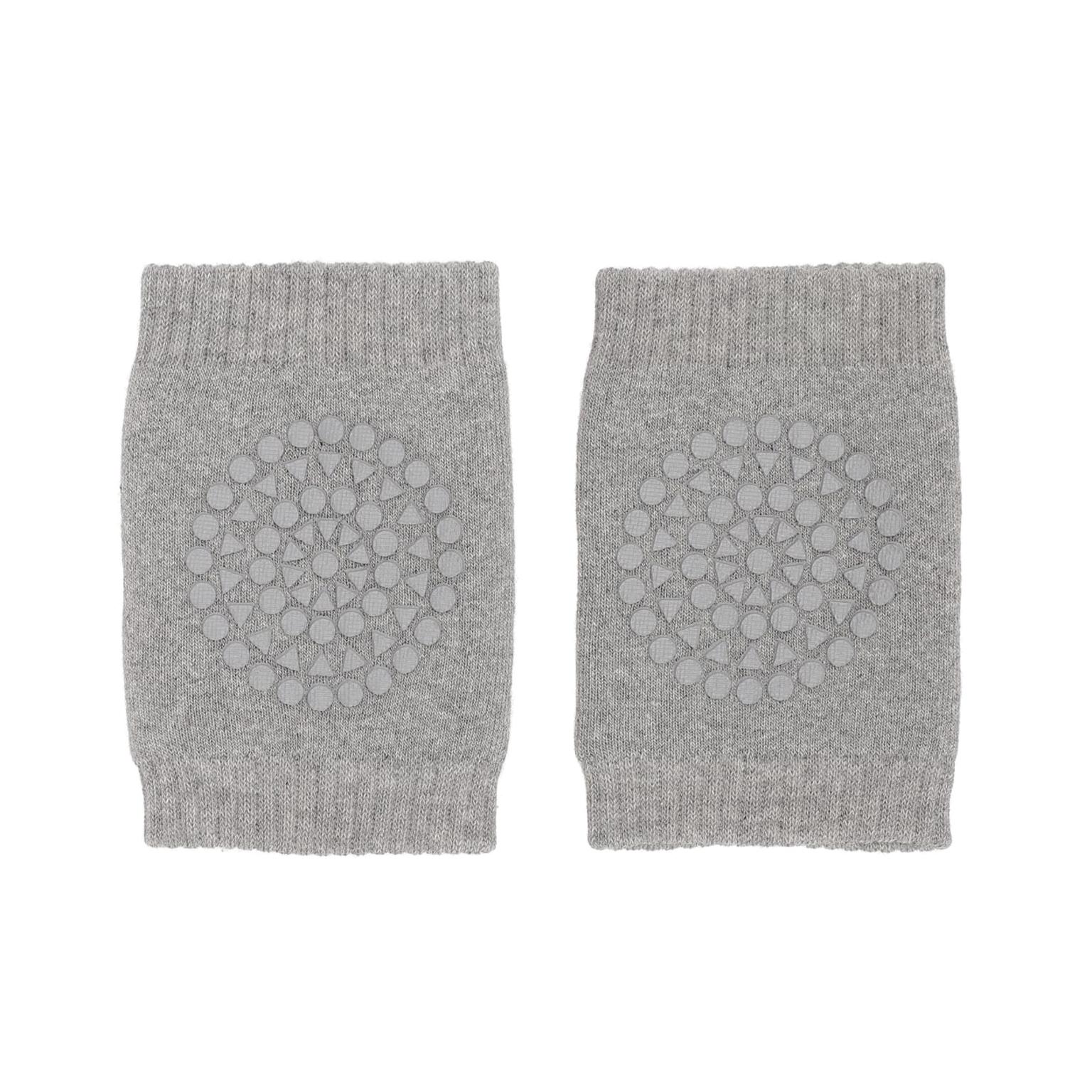 Image of   GoBabyGo kravle knæbeskyttere, grå melange