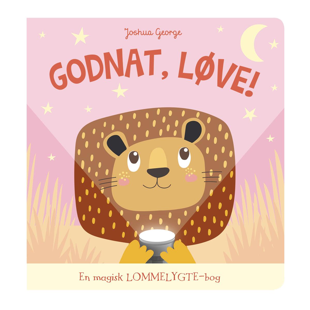 Image of   Godnat, Løve! - En magisk lommelygte-bog