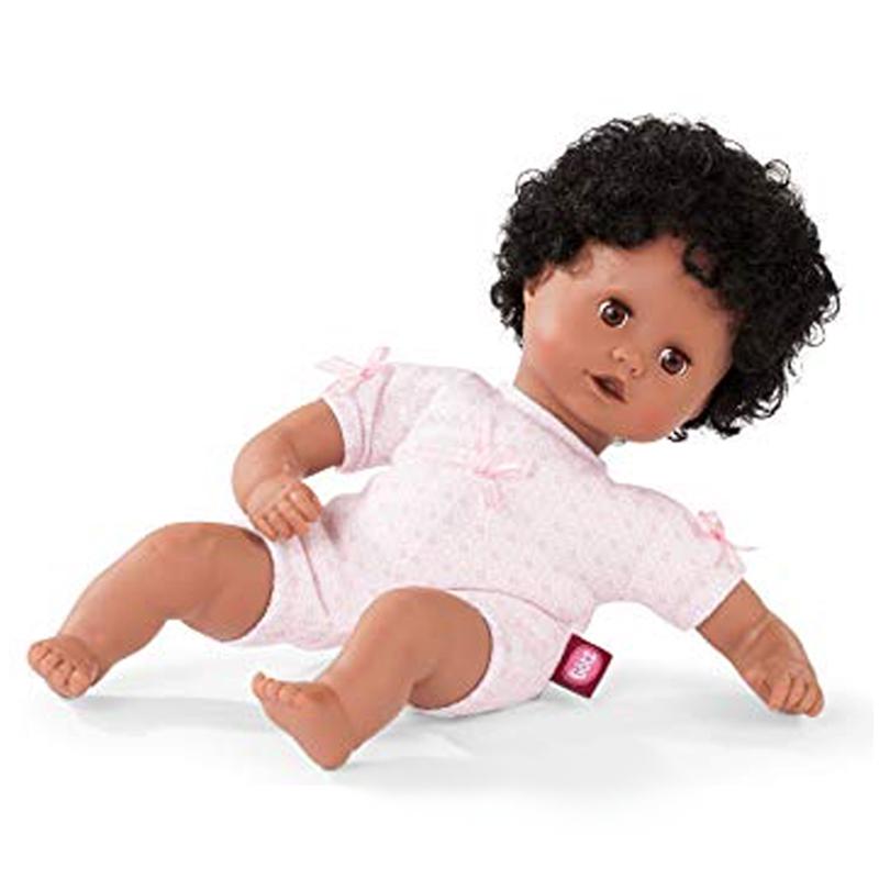Image of   Götz babydukke afro-amerikansk, 33 cm
