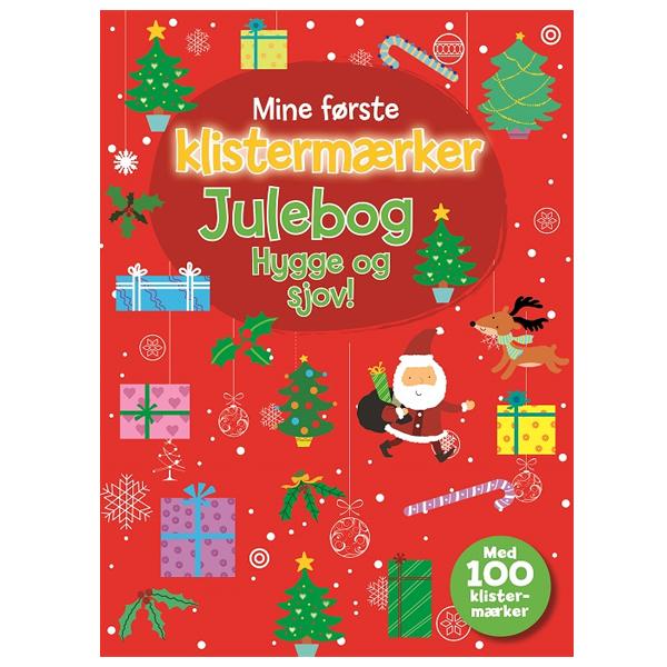 Julebog med klistermærker - Hygge og sjov