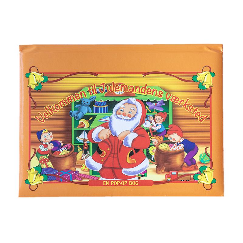 Velkommen til Julemandens Værksted, pop-op bog