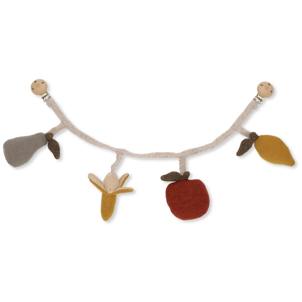 Billede af Konges Sløjd frugt barnevognskæde