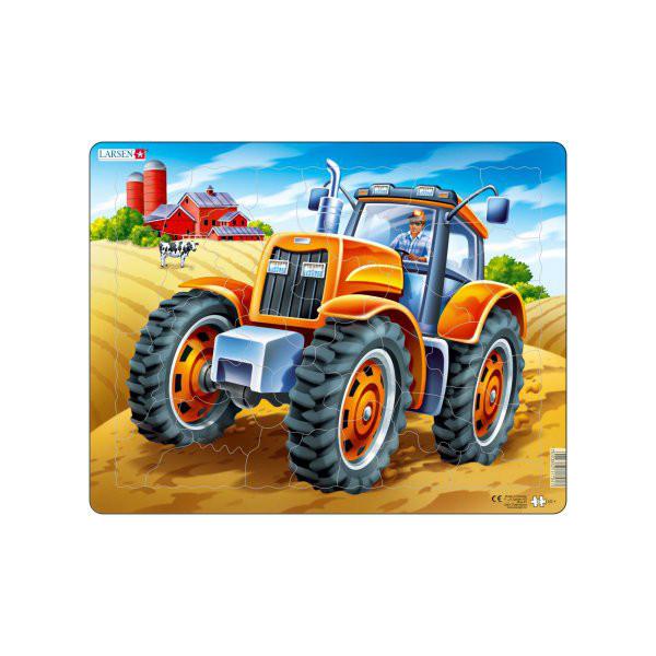 Image of Larsen Puslespil Traktor