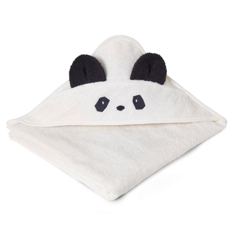 Liewood babyhåndklæde, panda