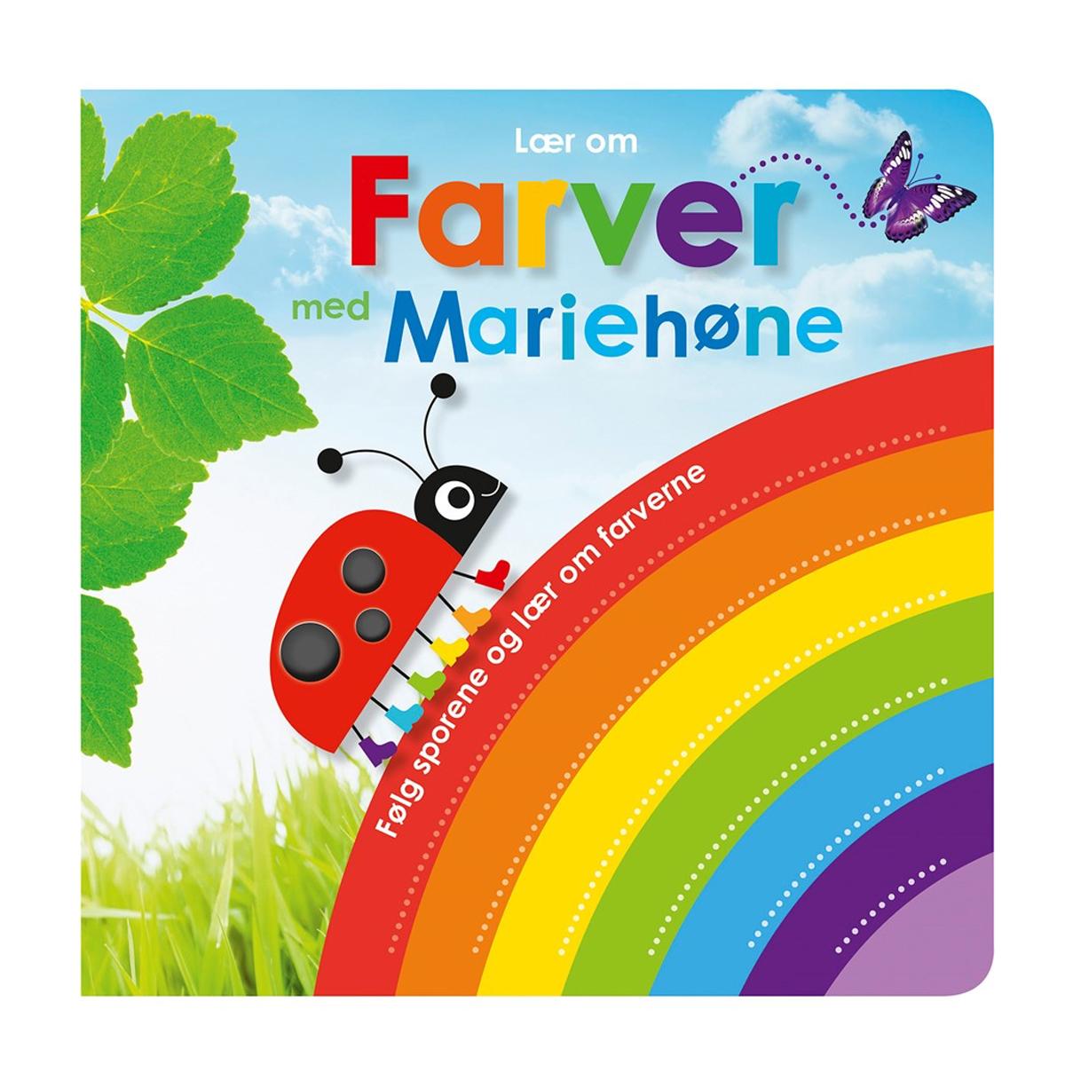 Image of   Lær om farver med Mariehøne