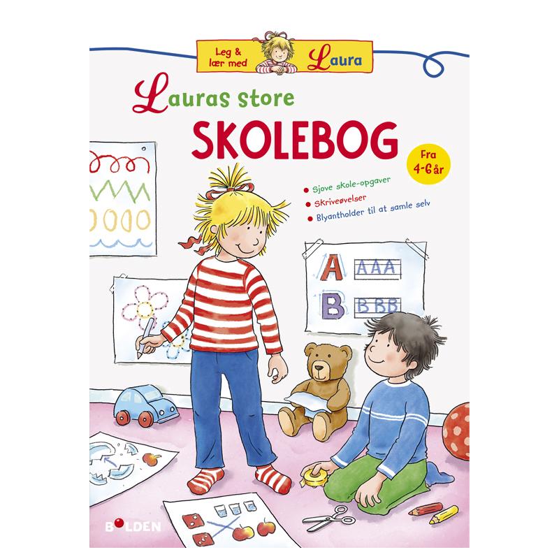 Image of   Lauras store skolebog