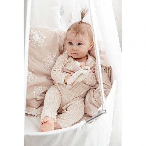 Leander babyvugge med madras, hvid