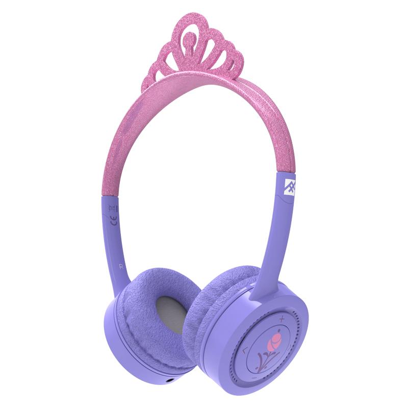 Billede af Little Rockerz trådløse høretelefoner, prinsesse