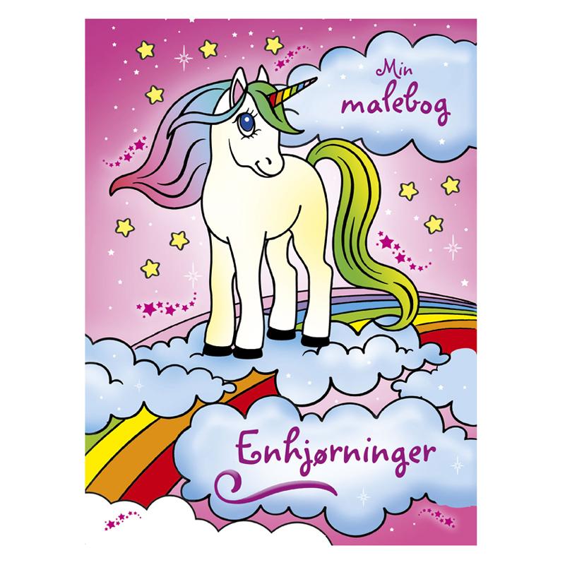 Image of   Min Malebog: Enhjørninger