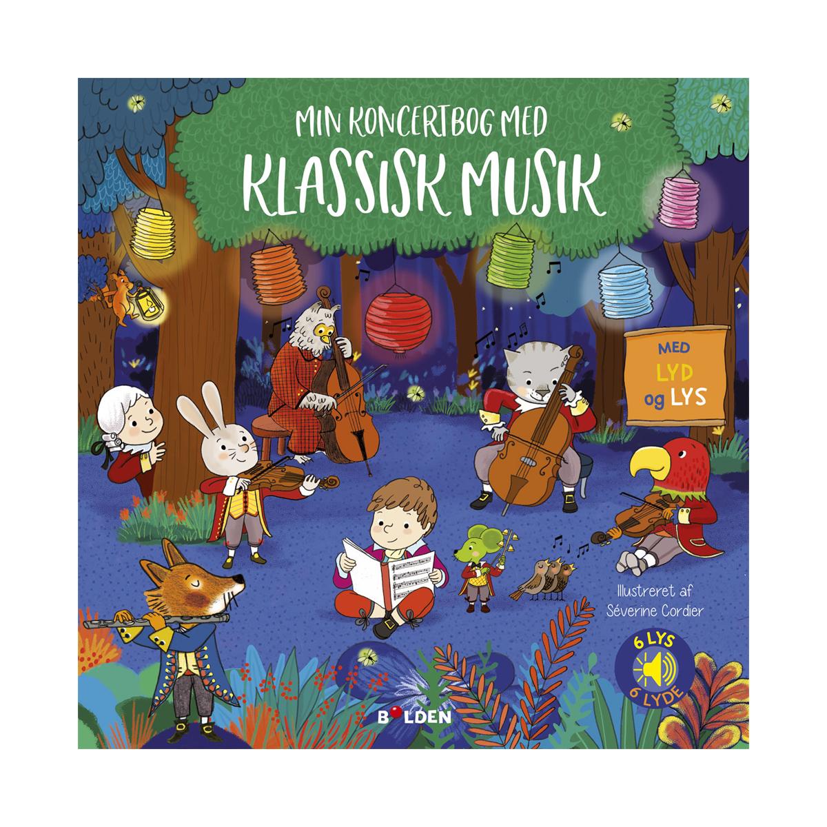 Image of   Min koncertbog med klassisk musik - med lyd og lys