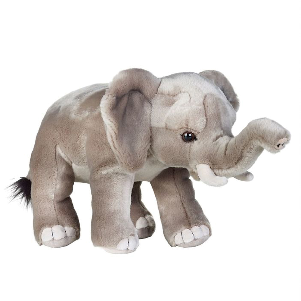 Image of   National Geographic bamse, afrikansk elefant 25 cm