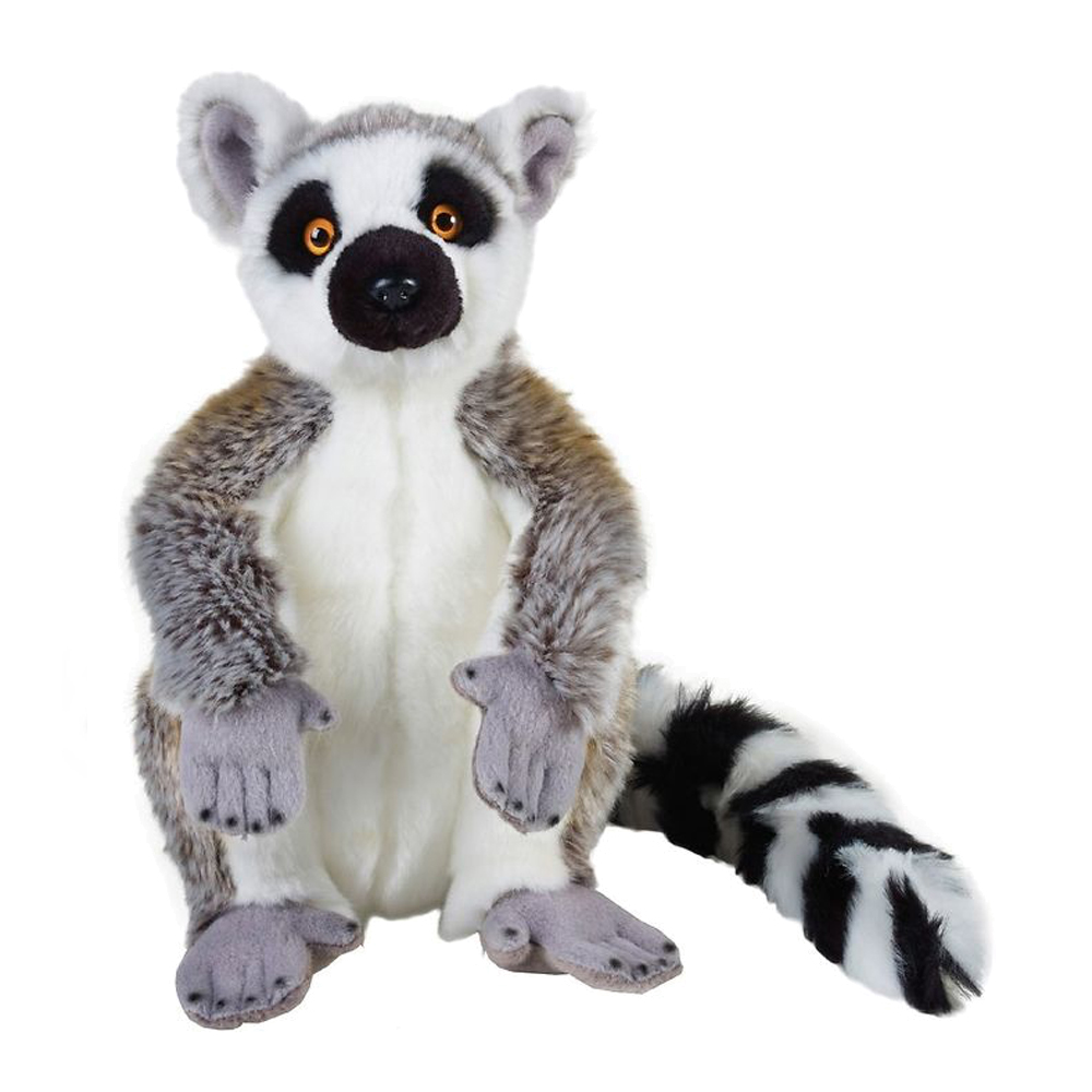 Image of   National Geographic bamse, lemur 30 cm