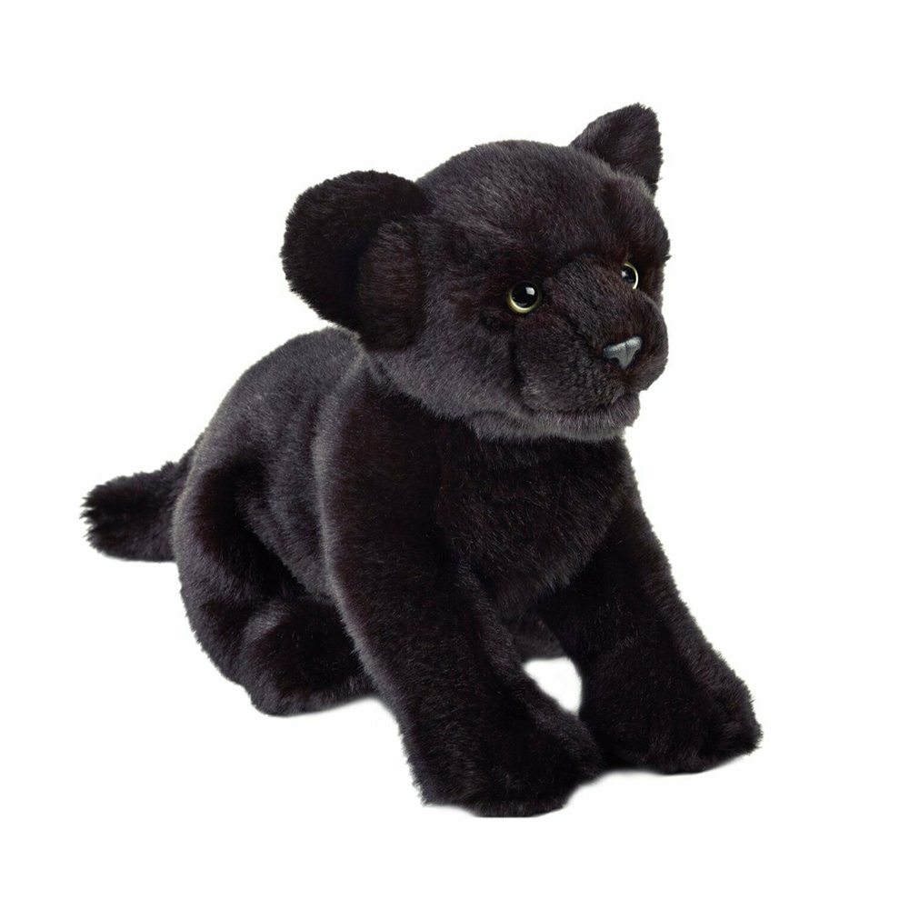 Image of   National Geographic bamse, panter 25 cm