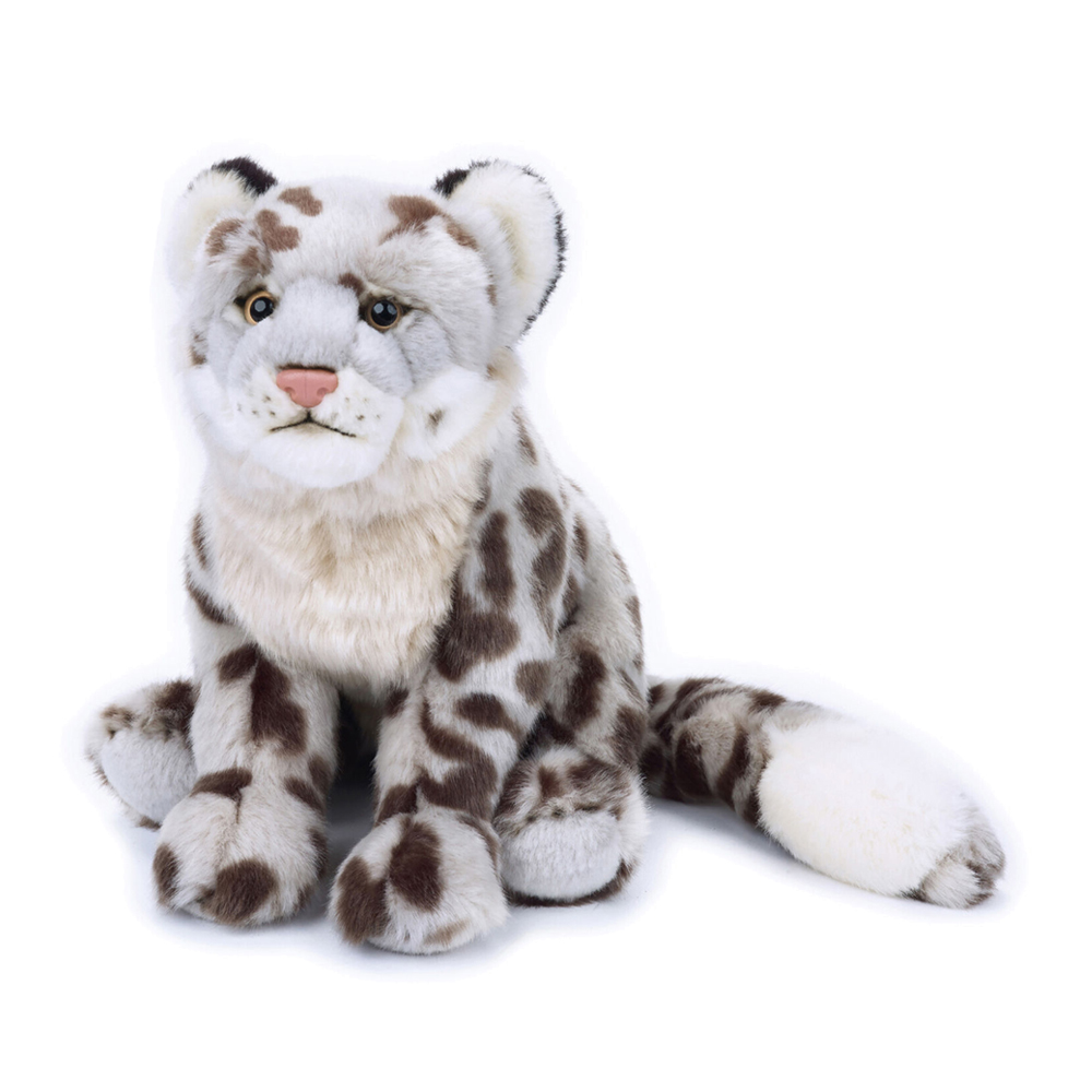 Image of   National Geographic bamse, sneleopard 24 cm