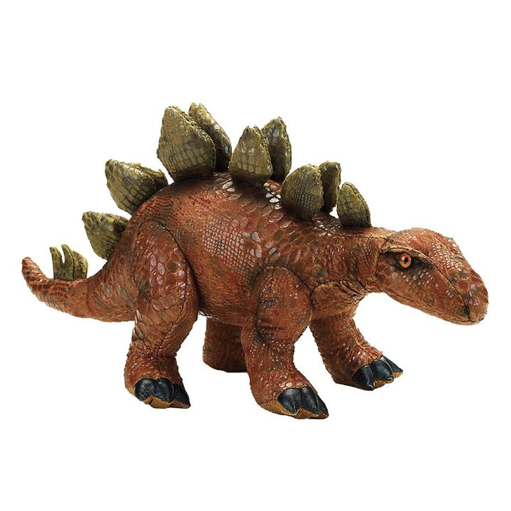 Image of   National Geographic bamse, stegosaurus 40 cm