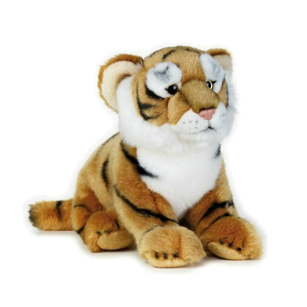 Image of   National Geographic bamse, tiger 25 cm