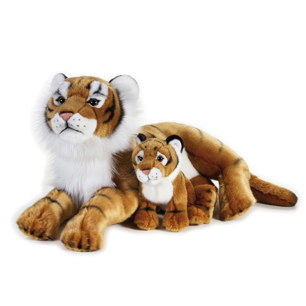 Image of   National Geographic bamse, tiger med baby 48 cm